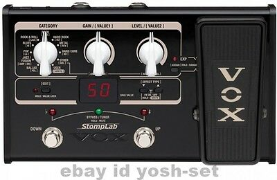 VOX StompLab SL2G Modeling Guitar Multi Effects Pedal From Japan