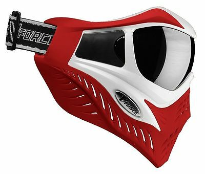 New VForce V-Force Grill Thermal SE Special Edition Goggles Mask White on Red