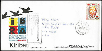 Kiribati 2003 Cover To USA #C33547