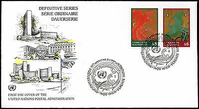 United Nations Vienna 1997 Phoenixes Flying Down FDC #C33502