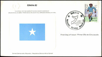 Somalia 1982 World Cup Football FDC First Day Cover #C33908