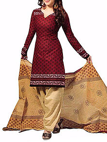 Indian Pakistani Un Stitched Bollywood Salwar Kameez Designer Dress Salwar  9173