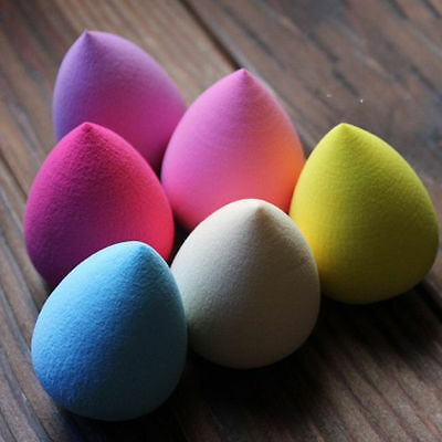 Teardrop Shape Beauty Makeup Foundation Blender Blending Applicator Sponge Wedge