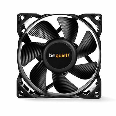 Be Quiet! Pure Wings 2 8cm Case Cooling Fan Rifle Bearing Black Ultra Quiet 80mm