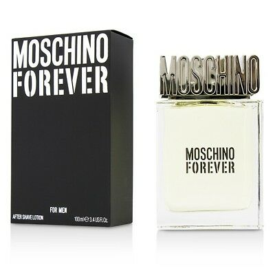 Moschino Forever After Shave Lotion 100ml Mens Cologne