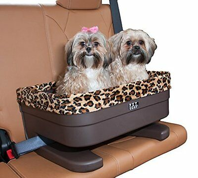 """Pet Gear PG1122JG Bucket Seat Booster for Small Pets  22""""  Chocolate/Jaguar NEW"""