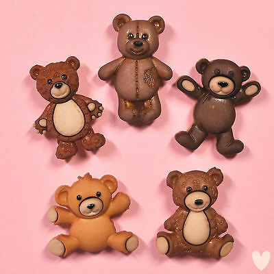 DRESS IT UP Buttons Stuffed with Love 7694 - Bear Embellishments Bears