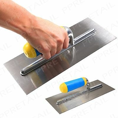 "Plasterers Float Decorator Render 11"" Hand Tool Flat Smooth Wall Trowel Cement"