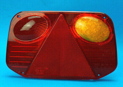 RH Radex 2800 Replacement LENS for Trailer Lamp Light Right Hand Side     #751BR