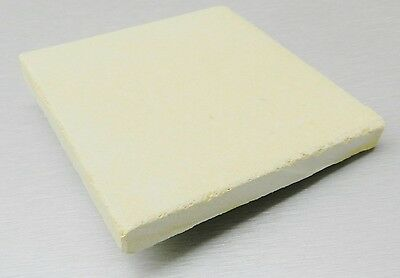 """CERAMIC BOARD HEAT PLATE JEWELRY SOLDERING MELTING 14""""x14"""" SQUARE TILE 1"""" THICK"""