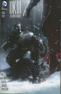 Dark Knight Iii The Master Race 4 Gabrielle Dell Otto Bulletproof Color Variant
