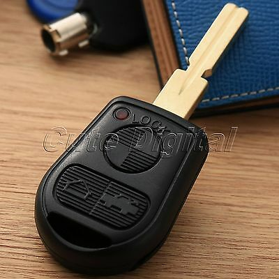Remote Key Fob Case Shell 3 Button Blade for 3 5 7 Series Z3 E46 E39 E38 E36