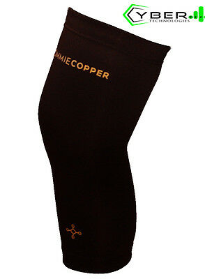 Tommie Copper Men's Recovery Refresh VITALITY Compression Knee Sleeve Small