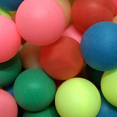 6PC Table Tennis Balls Ping Pong Multicolor Sports *CHEAPEST*