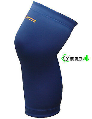 Tommie Copper Men's Recovery Refresh VITALITY Compression Knee Sleeve Blue