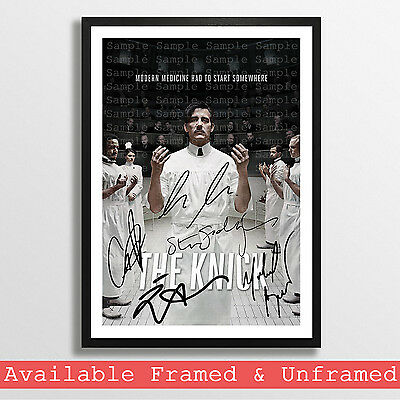 The Knick Cast Signed Autograph Print Poster Photo Dvd Tv Show Series Season