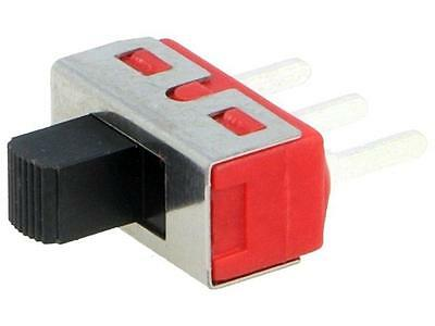 5MS2S102AM2QE Switch slide 1-position SPDT 5A/120VAC 5A/28VDC ON-ON