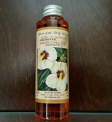 Rose Of Sharon ANOINTING OIL Aromatic Oil Blessed in Jerusalem Holy Land 110 ml