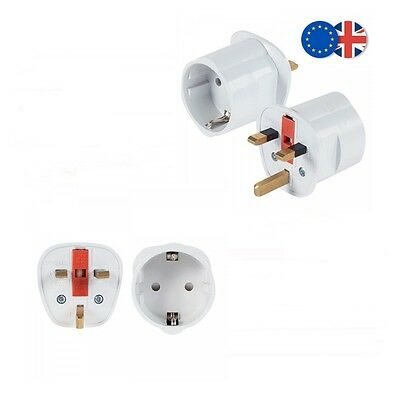 Adaptador Enchufe Uk A Eu - Europeo