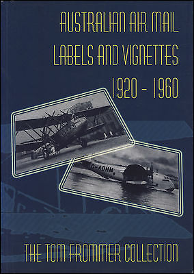 PHILATELIC BOOK: Australian air mail labels and vignettes 1920-1960