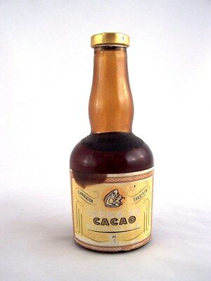 Miniature circa 1975 CREMA DE CACAO by MONTANA Isle of Wine