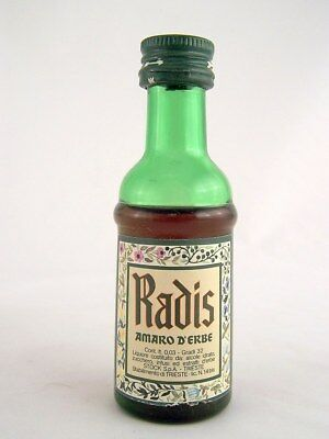 Miniature circa 1981 RADIS AMARO D'ERBE by STOCK Isle of Wine