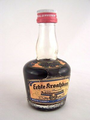 Miniature circa 1968 MORITZ THIENELT BLACKBERRY LIQUEUR Isle of Wine