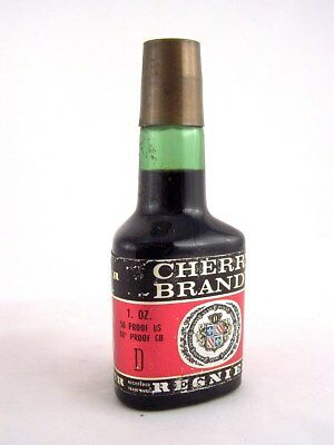 Miniature circa 1974 REGNIER CHERRY BRANDY Isle of Wine