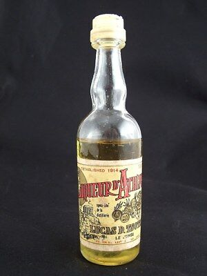 Miniature circa 1974 LIQUEUR D'ATHENES by TSOTRAS Isle of Wine