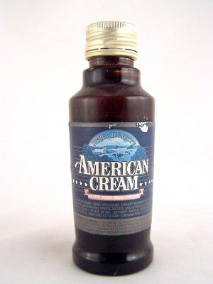 Miniature circa 1990 AMERICAN CREAM by BENNETT'S Isle of Wine