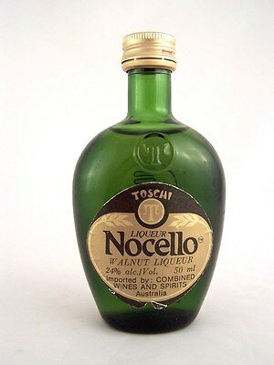 Miniature circa 1987 NOCELLO WALNUT LIQUEUR Isle of Wine