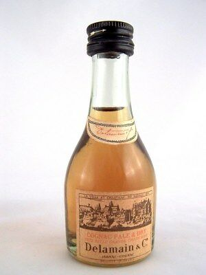 Miniature circa 1970 COGNAC PALE & DRY by DELAMAIN Isle of Wine