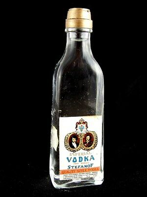 Miniature circa 1972 BUTON IMPERIAL VODKA STEFANOF Isle of Wine