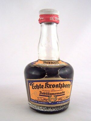 Miniature circa 1978 MORITZ THIENELT BLACKBERRY LIQUEUR Isle of Wine
