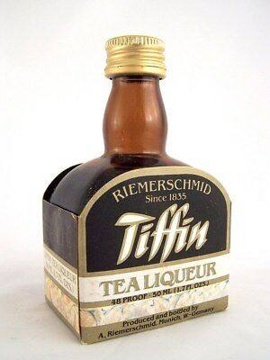 Miniature circa 1985 RIEMERSCHMID TIFFIN TEA LIQUEUR Isle of Wine