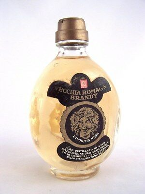 Miniature circa 1974 VECCHIA ROMAGNA BRANDY Isle of Wine