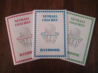 Netball Coaches Handbook by Vincent Snashall (Minimum order is 2 books,$16)