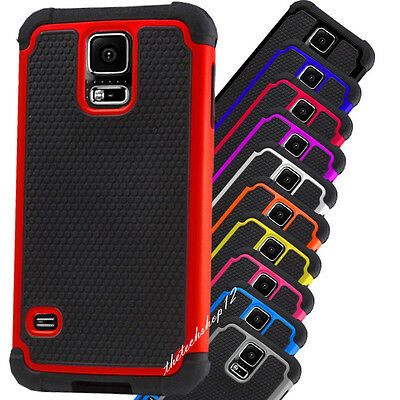 Shockproof Defender Armour Hard Silicone Case For Samsung Galaxy S5 6 Note3 4 5