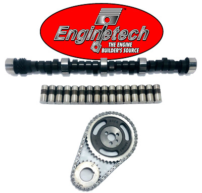Chevy SBC 350 HP Stage 5 508//532 Camshaft Lifters /& Adjustable Timing Kit MC5871