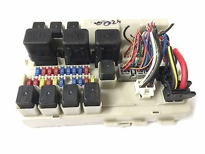 04-06 nissan altima 2 5 bcm fusebox fuse box block panel 284b78j02a tested  oem
