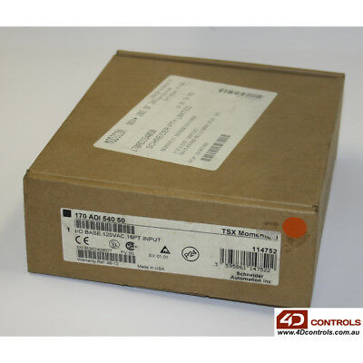 Modicon 170 ADI 540 50 16pt 120VAC Input - New Surplus Sealed