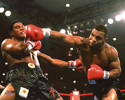 1986 Heavyweight Boxers MIKE TYSON vs Trevor Berbick Glossy 8x10 Photo Print