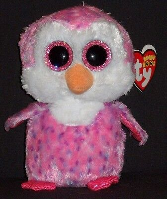 """NEW with MINT TAGS Claire/'s Exclusive OLIVE the Penguin Ty 6 /"""" Beanie Boos"""
