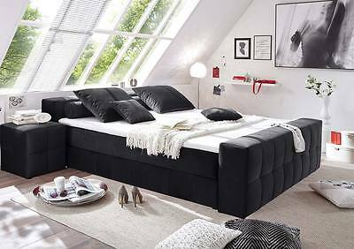 xxl boxspringbett mit bettkasten boxspring bett weiss 200x200 eur picclick de. Black Bedroom Furniture Sets. Home Design Ideas