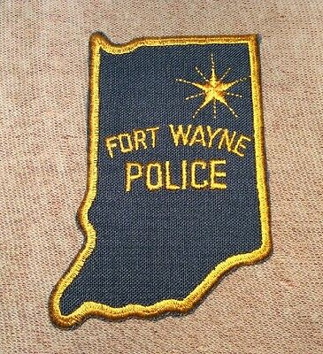 IN Fort Wayne Indiana Police Patch
