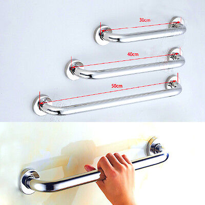 "High Quality Grab Bar 12"" 15"" 20"" Bathroom Mobility Support Handle Rail New"