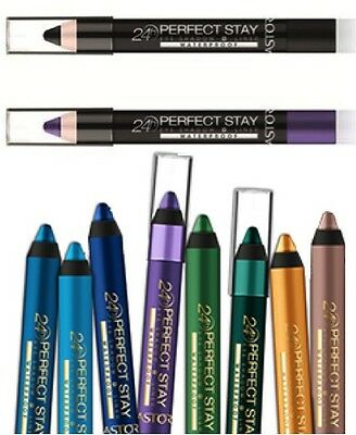 Astor 24Hr Perfect Stay Waterproof Black Glitter / Purple Eyeshadow Pencil