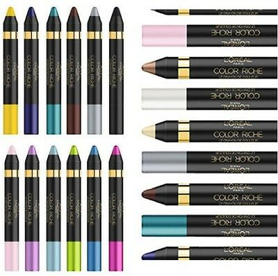 L'oreal Color Riche Le Crayon Eyeshadow / Eyeliner Pencil New **choose Shade**