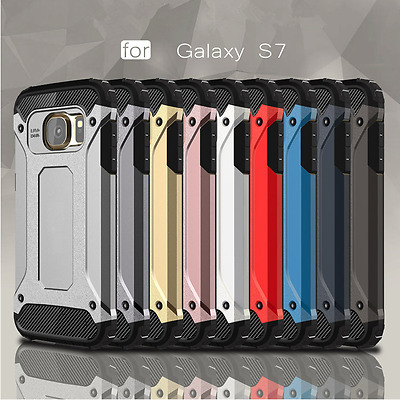 Armor Rugged Shockproof Hybrid Hard Case Cover For Samsung Galaxy S7 S7 edge