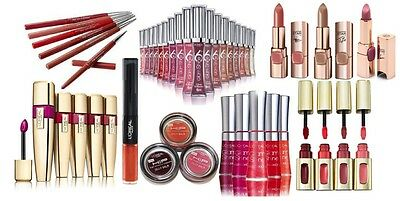L'oreal Lipliner / Lip Gloss / Liquid / Stain / Lipstick **choose Type & Shade**